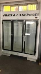 Expositor de frios 3 portas
