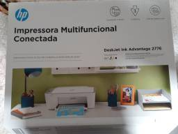 Impressora Multifuncional HP DeskJet Ink Advantage - 2776 NUNCA USADA