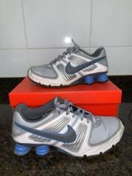Tênis Nike Shox 4 molas original branco pouco usado nr 41