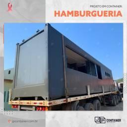 Hamburgueria Container