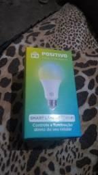 Lâmpada smart positivo