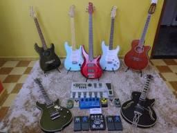 Venda é troca de instrumentos...