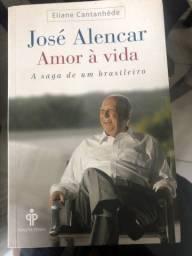 Livro José Alencar amor a vida