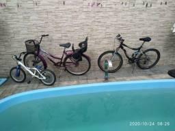 3 bicicletas