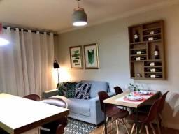 Apartamento mobiliado 2 dorm - Super decorado