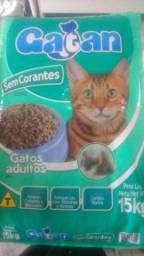 Ração Gatos Gatan 15kg Sem Corantes