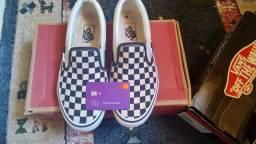 Vans Slip On chequersboard