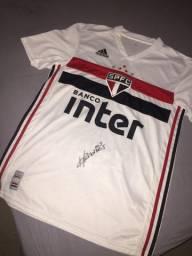 Camisa original São Paulo fc autografada