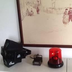 Kit Iluminacao Chauvet Circus com sensor de ritimo da musica para festa Dj