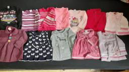 Lote roupas menina 1 ano