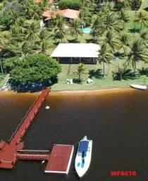 Casa na Lagoa do Uruaú, 17.500m² de área total, condomínio fechado, piscina