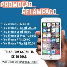 Trocas de Telas de iPhone na Promoção