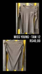 Blusa Miss Young - TAM 12