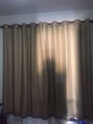 Cortina corta luz c/ voil