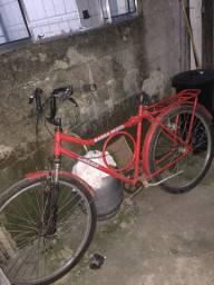 Bicicleta barra forte da caloi