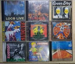 Pacote 9 CDs Rock - Raridade