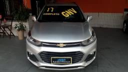 Tracker ltz 1.4 turbo + gnv + aut + couro + teto + nova