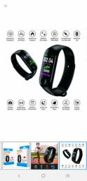 Relogio M3 Pulseira Inteligente Smartband Smartwatch Pressão Art. e Batimentos