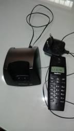 telefone sem fio intelbras com identificador