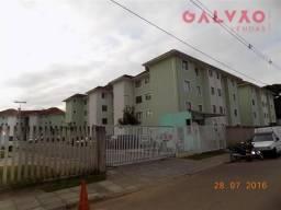 Apartamento à venda com 2 dormitórios em Cidade industrial, Curitiba cod:37789