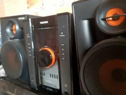 300wts Som Toshiba (USB,AUX,CD E RADIO)