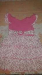 Lote vestido infantil 80$