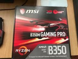 MSI b350 Gamming Pro