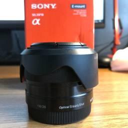 Lente Sony E-mount 35mm 1.8 Perfeita SEL35F18