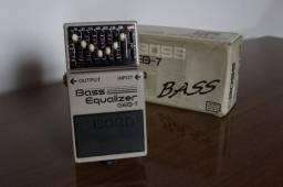 Pedal P/ Baixo Boss Geb-7 Bass Equalizer