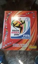 Àlbum de Figurinhas Copa do Mundo África do Sul 2010 PaninI Completo