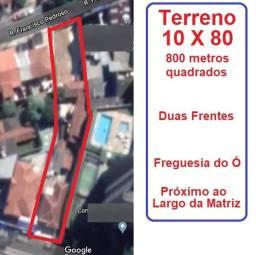 Terreno 10 X 80 - Freguesia do Ó