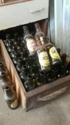 Garrafas de Cerveja SKOL e BRAHMA