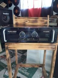 Amplificador MK 4000 Turbo