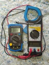 Vendo Amperímetro e Capacímetro R$350,00 aceito Pic Pay