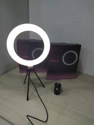Ring light de mesa 6 polegadas
