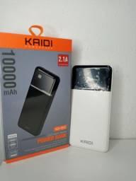Carregador Portátil Kaidi original de 10000 com frete grátis e garantia de 90 dias.