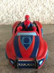 Carro aranha Imaginext Marvel homem aranha spiderman