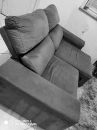 Oferta sofá retrátil e reclinável