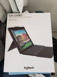 """Slim Combo (Capa com teclado retroiluminado) Novo Original Logitech para iPad Pro 12,9"""""""