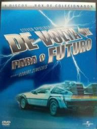 Box Trilogia DE VOLTA PARA O FUTURO