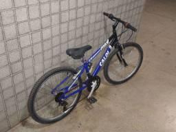Vendo Bicicleta aro 24 caloi ( 21 marchas)