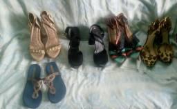 Combo de calçados femininos
