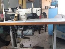 Máquina de costura ( reta e overloque, valor negociável )
