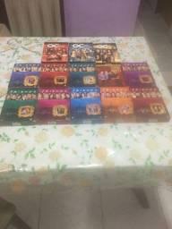 Box completo de Dvds