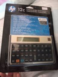 Calculadora financeira nova, sem nenhum uso.