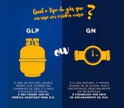 Conversão de GLP pra GN