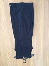 Vestido de sarja com fenda da marca rabusch