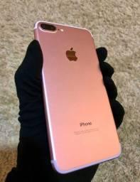 IPhone 7 Plus 128gb Rosê- Loja fisica
