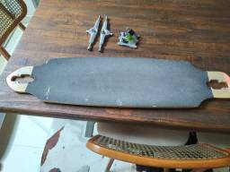 Longboard Shape e Eixo aluminio