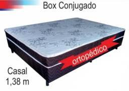Cama Box de casal modelo ortopédico